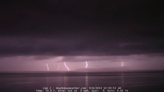 Puget Sound Thunderstorms